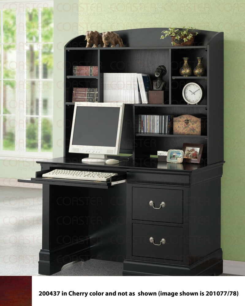 deals home all kids furniture louis philippe study desk black